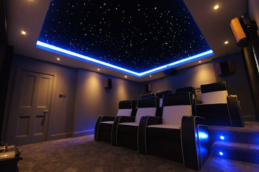 Infinity star ceiling