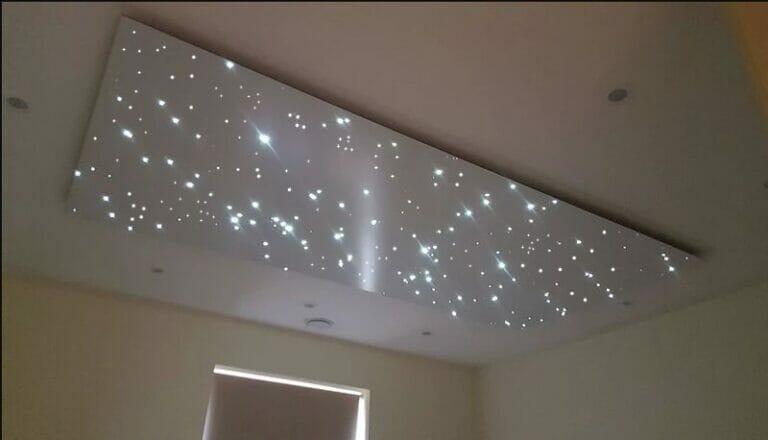 Galaxy star panel
